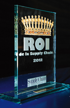 Supply Chain Masters, ROI des Trophées de la Supply Chain 2012